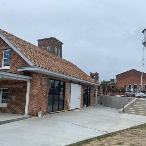 'Books and Beans' Prepares to Open at Rocky Mount Mills in October