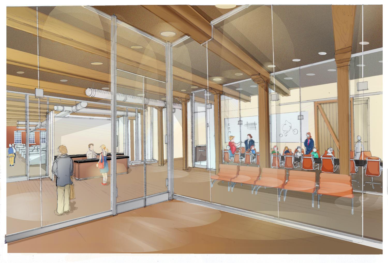 WORK - Final Interior Rendering