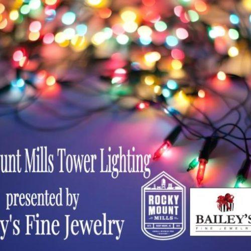 Rocky Mount Mills to Host Tower Lighting Dec. 7